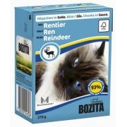 Бозита Консервы для кошек кусочки в соусе (олень) 370 г