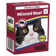 Бозита Консервы для кошек кусочки в желе (говядина рубленая) 370 г