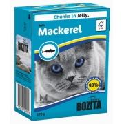 Бозита Консервы для кошек кусочки в желе (скумбрия) 370 г