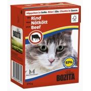 Бозита Консервы для кошек кусочки в соусе (говядина) 370 г