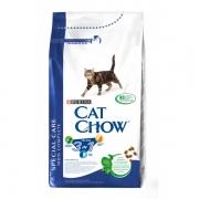 Кэт Чау Сухой корм для кошек ФЕЛИНЕ (3 в 1) 1,5 кг