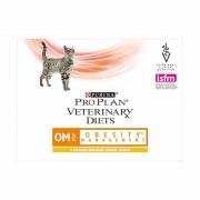 Пурина ОM Ветдиета для кошек (пауч) курица 85 г (при ожирении) ОБЕСИТИ