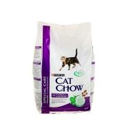 Кэт Чау Сухой корм для кошек Контроль шерсти 1,5 кг