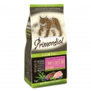 Примордиал Сухой беззерновой корм для котят утка/индейка 2 кг