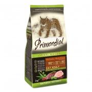 Примордиал Сухой беззерновой корм для кошек утка/индейка 2 кг