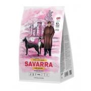 Саварра Эдалт Дог Лардж Брид Корм для взрослых собак крупных пород (ягненок-рис) 3 кг