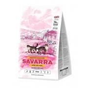 Саварра Сэнсетив Кэт Корм для взрослых кошек с чувст пищевар (ягненок-рис) 400 г
