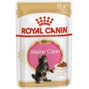 Роял Канин  Конс. для котят Киттен Мейн Кун в соусе 85 г