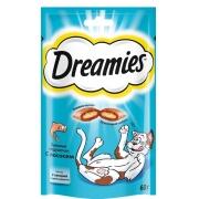 Дримис Лакомство для кошек (лосось) 60 г