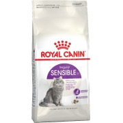Роял Канин Сенсибл Сухой корм для кошек с чувствительным пищеварением 1,2 кг