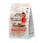 Саварра Киттен Корм для котят (индейка-рис) 400 г