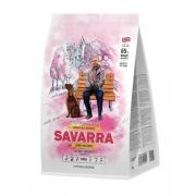 Саварра Эдалт Дог Корм для взрослых собак (ягненок-рис) 3 кг