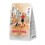 Саварра Паппи Для щенков всех пород (индейка-рис) 1 кг