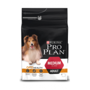 Проплан Сухой корм для собак взрослых Медиум (курица) 1,5 кг OptiHealt