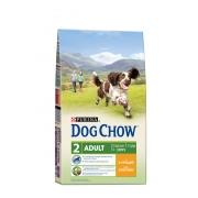 Дог Чау Сухой корм для собак Курица 14 кг