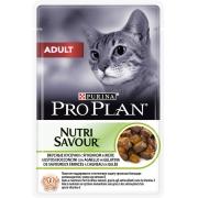 Проплан Пауч Эдалт для кошек ягненок в желе 85 г