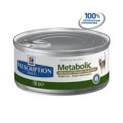 Хиллс PD Диетический корм для кошек  Метаболик (паштет) 156гр