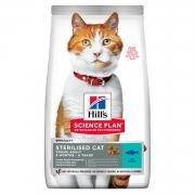 Хиллс SP Сухой корм для кастр. кошек до 6 лет (тунец) 1,5 кг