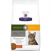 Хиллс PD Диетический корм для кошек  Метаболик+Уринари 1,5 кг