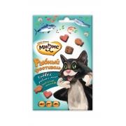 Мнямс Лакомство для кошек Рыбний Фестиваль (лосось, креветки, форель) 50 г
