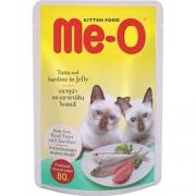 Ме-О влажный корм для котят. Тунец-сардины в желе 80 г
