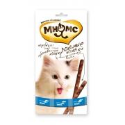Мнямс Лакомые палочки для кошек лосось+форель 3 шт