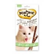 Мнямс Лакомые палочки для кошек утка+кролик 3 шт
