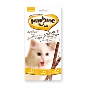 Мнямс Лакомые палочки для кошек цыпленок+печень 3 шт