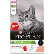 Проплан Сухой корм для кастрированных котов и кошек поддерж.органов чувств (лосось) Optisenses 1,5 кг