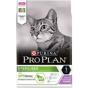 Проплан Сухой корм для кастрированных котов и кошек (индейка) OptiRenal 10 кг