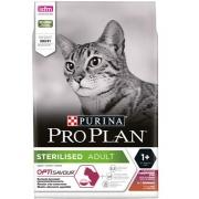 Проплан Сухой корм для кастрированных котов и кошек поддерж.органов чувств (утка-печень) Optisavour 1,5 кг