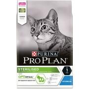 Проплан Сухой корм для кастрированных котов и кошек (кролик) Optirenal 3 кг