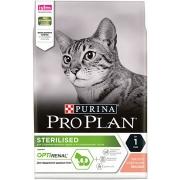 Проплан Сухой корм для кастрированных котов и кошек (лосось) Optirenal 10 кг