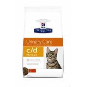 Хиллс PD Диетический корм для кошек c/d Уринари (курица) сухой 400гр