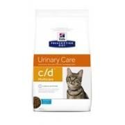 Хиллс PD Диетический корм для кошек c/d Уринари (ок. рыба) сухой 1,5 кг