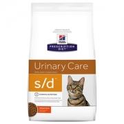 Хиллс PD Диетический корм для кошек s/d (струвиты) сухой 1,5 кг