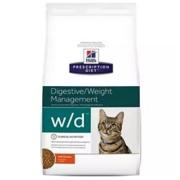 Хиллс PD Диетический корм для кошек WD Леч. сах. диабета сухой 1,5кг