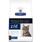 Хиллс PD Диетический корм для кошек Z/D Low All при аллергии сухой 2 кг